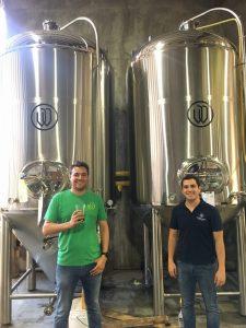 Cervecería Wendlandt : Eugenio y Pablo