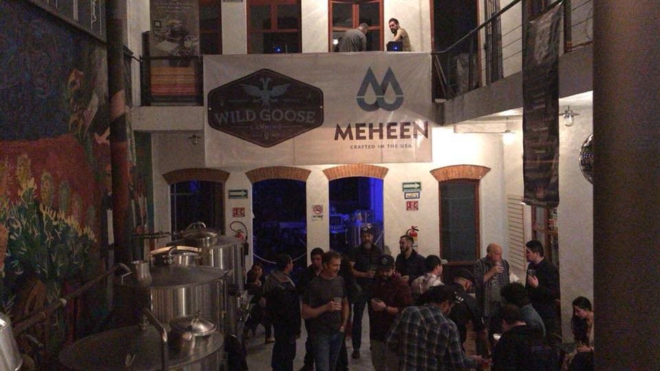 wild goose and meheen party