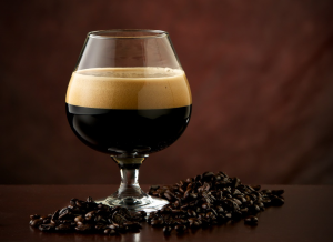 stout porter in glass