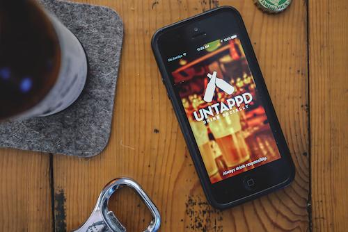 untappd app de cerveza